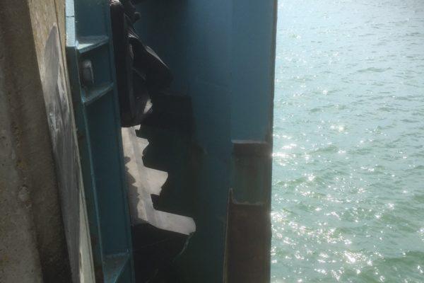 Trelleborg, bargning av fender