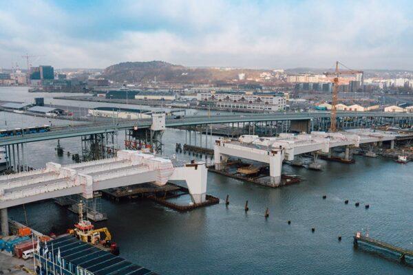 Hisingsbron -gammal och ny bro