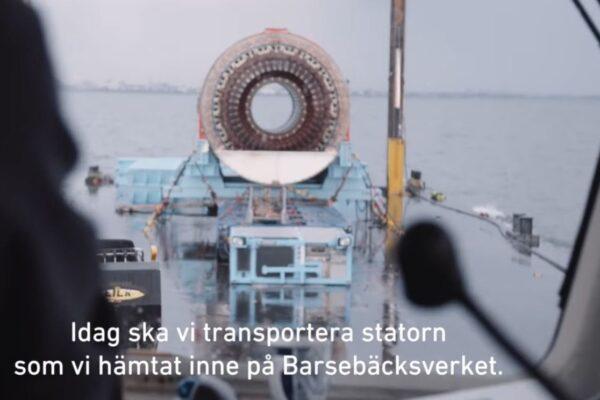 Barsebäck transport IV